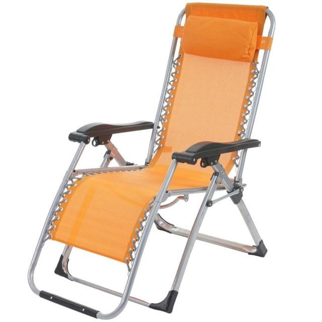 decoshop26 transat bain de soleil chaise longue jardin. Black Bedroom Furniture Sets. Home Design Ideas