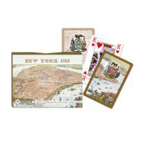 Piatnik - Jeu de cartes : Coffret de 2 x 55 cartes : Plan de New York 1853