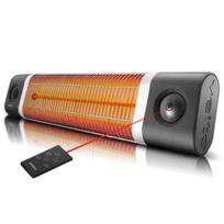 Veito - Chauffage infrarouge intérieur et extérieur Omega 2500W Noir