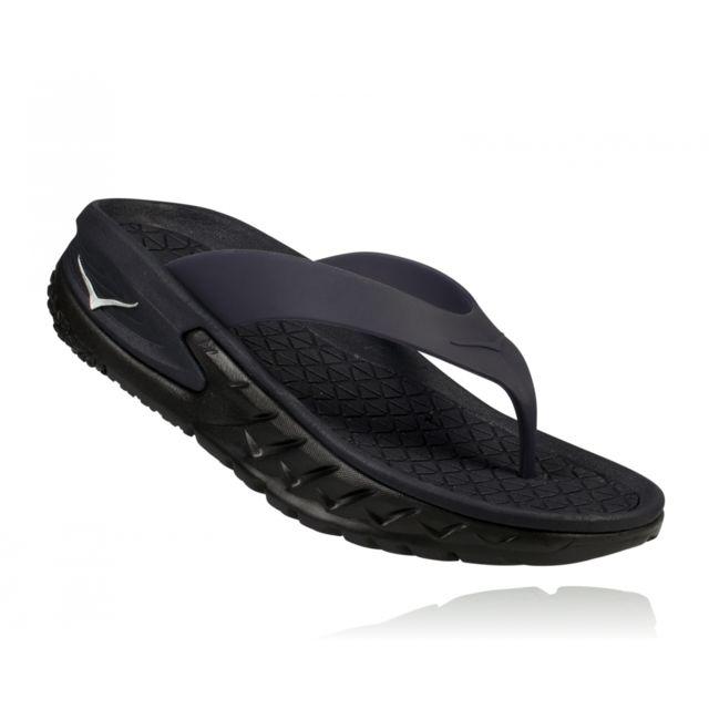 Noir 40 One Sandales Black Flip W Recovery Hoka Ora JT3FulK1c