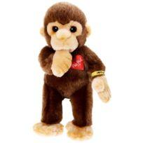 Babyland - Heinrich Bauer Pia Pia Club 17110 Stuffed Toy Monkey Sucking Thumb 22 Cm