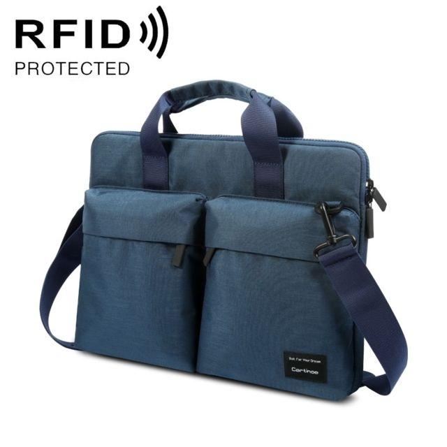 4902b58e93 Wewoo - Sacoche ordinateur 13 pouces Anti-rfid Mode Polyester Respirant  Confortable Sac d'