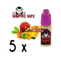 Vampire Vape - Lot 5 e-liquides Pinkman - 0mg soit 4,90 euros le flacon 10ml