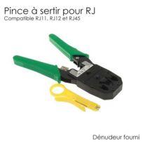 SecuriteGOODdeal - Pince à sertir pour rj11 rj12 et rj45