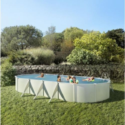 habitat et jardin piscine bois en kit rectangle murano x x m pas cher. Black Bedroom Furniture Sets. Home Design Ideas
