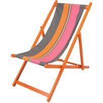 ARTIGA - Chilienne colorée Orange et Egée