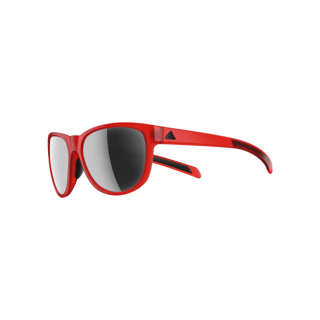 02c7349e24537 Adidas - Lunettes adidas Wildcharge rouge avec verres Chrome Mirror à effet  miroir