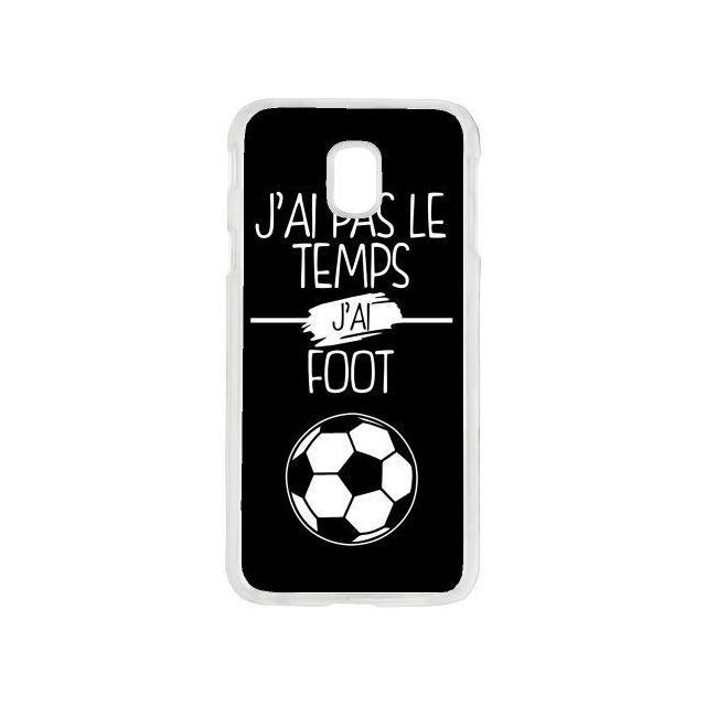 coque samsung j3 foot