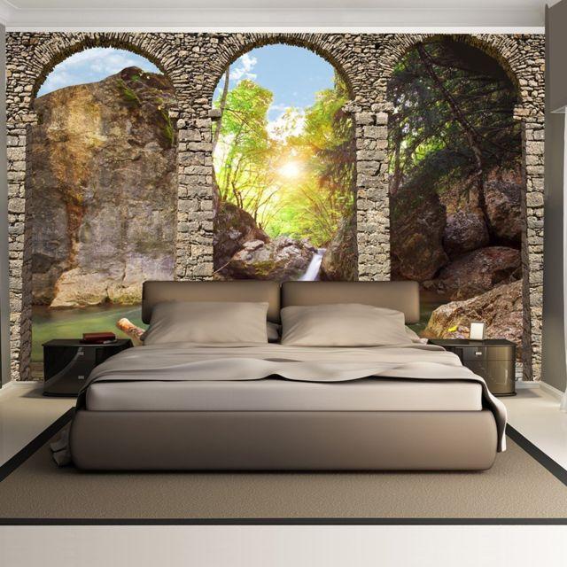 bimago makossa a1 xxlnew010265 papier peint morning relaxation 350x245 pas cher achat. Black Bedroom Furniture Sets. Home Design Ideas