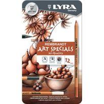 Lyra - Rembrandt Special Arts Boite De 12 Crayons