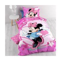 Minnie - Parure de lit Pink Disney