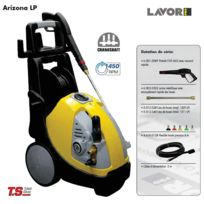 Lavor - Pro - Nettoyeur haute pression 150 Bars 2300W 510L/h sans enrouleur - Arizona 1209 Lp