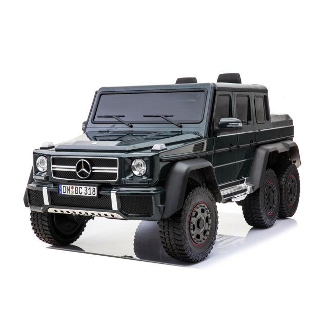 12 volts Mercedes AMG G63 6x6 voiture enfant electrique Mercedes