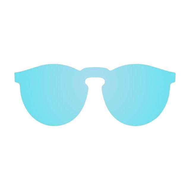 08943fe5e81cf4 Buzzao - Lunettes de soleil verre polarisé bleu ciel - pas cher Achat   Vente  Lunettes Tendance - RueDuCommerce