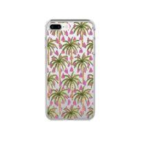 coque iphone 8 palmtree transparent