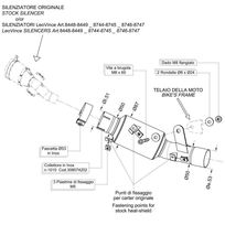 Leovince - Tube No Kat - Collecteur pour supprimer le Catalyseur - Acier Inox - Kawasaki - Zx-6R Ninja I.E. 2009/2013