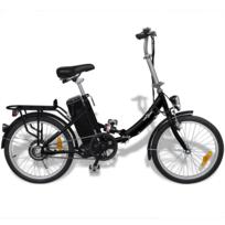 Vidaxl - Vélo électrique pliant en alliage d'aluminium et batterie lithium-ion