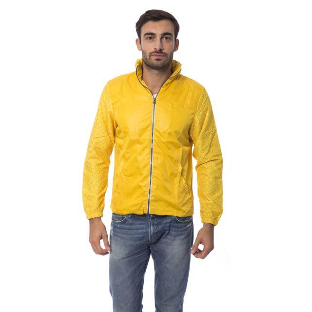 gas veste homme k way jaune pas cher achat vente. Black Bedroom Furniture Sets. Home Design Ideas