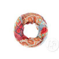 Coolminiprix - Lot de 6 - Foulard tube motif orange rouge - Qualité f53039ed908
