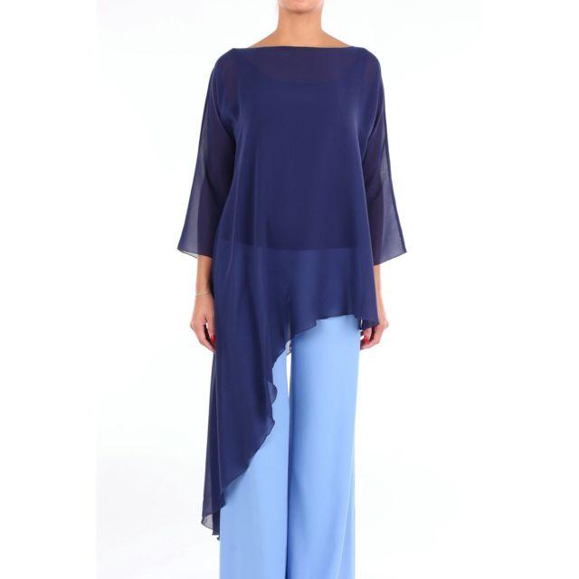Botondi Milano Botondi Femme S19380827BLU Bleu Blouse