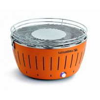 Lotusgrill - Barbecue de table Grill au Charbon Modèle Xl 43.5 Cm Mandarine