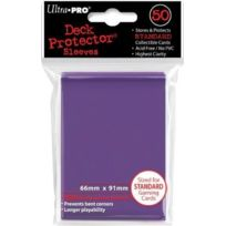 Ultra Pro - 50 pochettes Deck Protector Solid Violet