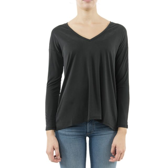 Lola Espeleta Tee shirt manches longues tpm63w19 noir
