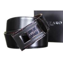 Azzaro - Ceinture Large 91136 Reversible Noir/Marron