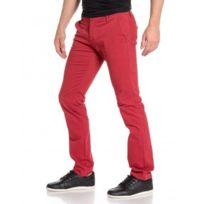 BLZ Jeans - Pantalon homme détente chino rouge