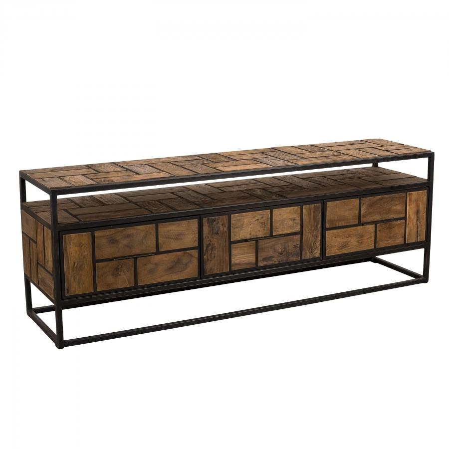 meuble-tv-3-tiroirs-1-etagere-teck-recycle-et-metal-2.jpg [MS-15481123719086096-0019500391-FR]/Catalogue produits RDC et GM / Online