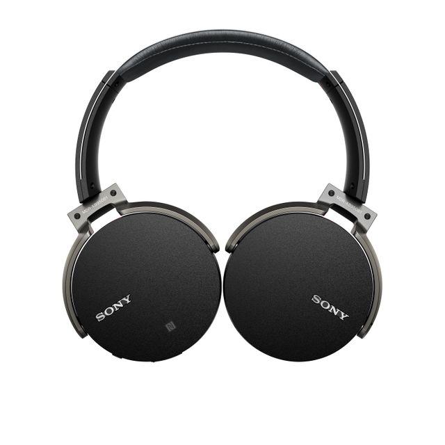 SONY - Casque circum-aural Bluetooth Extra Bass MDRXB950B1B.CE7