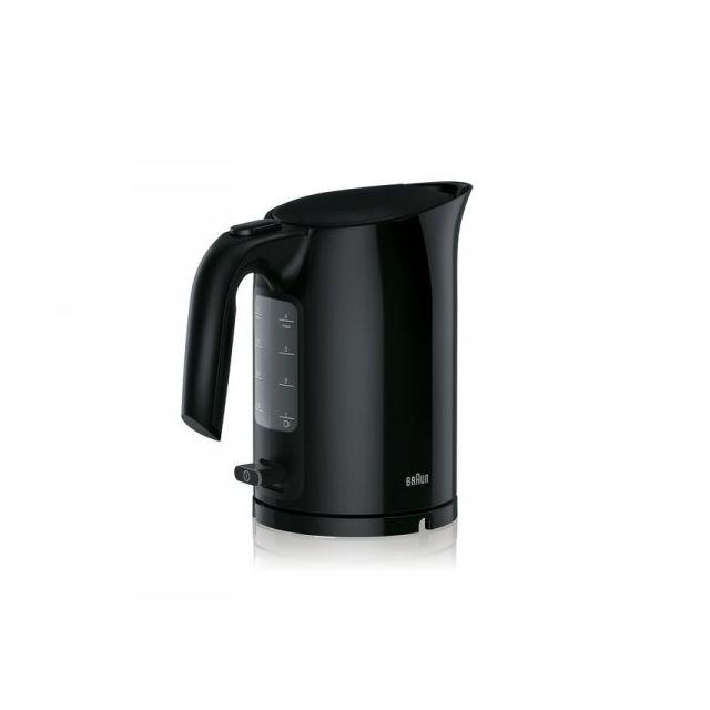 Braun Bouilloire 1 L PurEase noire 2000W Wk3000BK