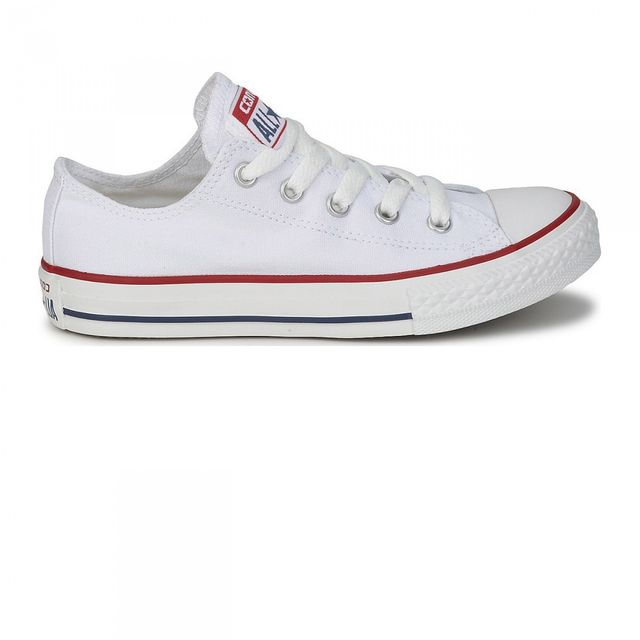 Star Converse Achat All White Pas Cher Basse Chaussures Optical Rn7fnzaTx