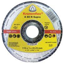 Klingspor - Disque A Tronconner Pour Meuleuse Special Alu Plat - Ø mm:125 - Epais. mm:1