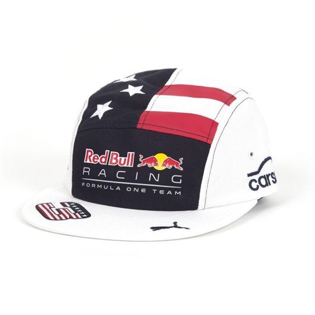 c47c6fe83 Red Bull - Casquette Austin Daniel Ricciardo blanche - pas cher ...