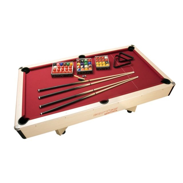 Cortes Games - Table de billard 3 en 1 Arlequin