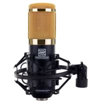 Pronomic - Cm-100BG Micro à Grosse Membrane de Studio incl. suspension & Protection Anti-Vent, noir