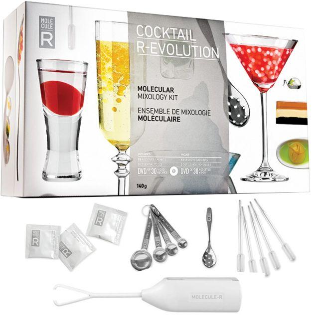 Touslescadeaux Grand Kit Coffret Cocktail Moléculaire cuisine moléculaire, avec Dvd de 30 recettes