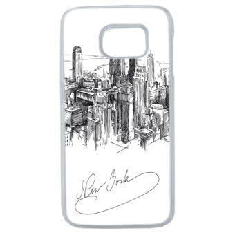 Lapinette - Coque Rigide New York Pour Samsung Galaxy S7 Edge