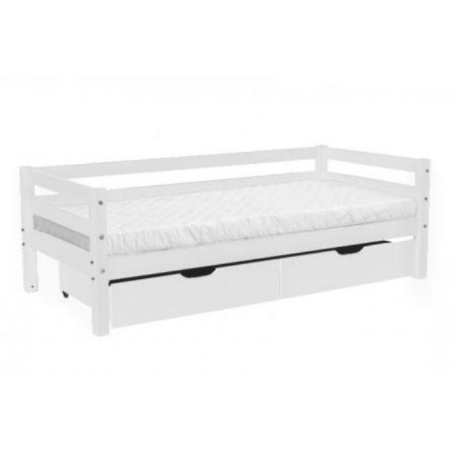 Nordic Factory Lit Basic 70x160 + tiroirs de rangement