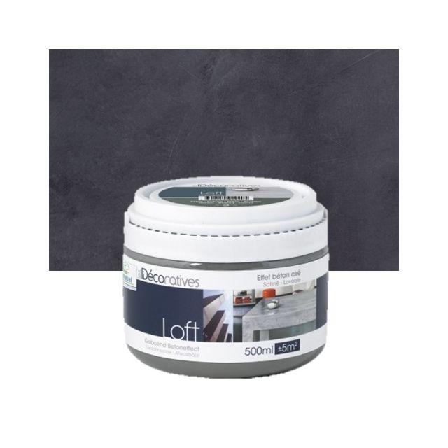 id paris peinture effet bton cir pour meubles et boiserie loft meuble 500ml madrid