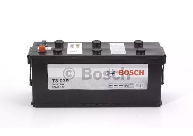 bosch batterie poids lourd 12v 120 ah 760 a r f 0092t30390 pas cher achat vente batteries. Black Bedroom Furniture Sets. Home Design Ideas
