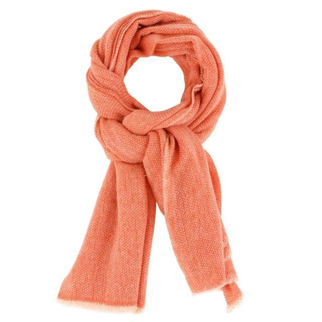 54092350a310 Les Poulettes Bijoux - Echarpe Laine et Cachemire Classics et Colors - Rouge  - pas cher Achat   Vente Echarpes, foulards - RueDuCommerce
