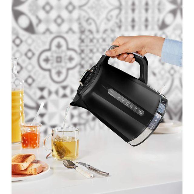 Moulinex bouilloire électrique de 1,7L sans fil avec base 360° 2400W noir