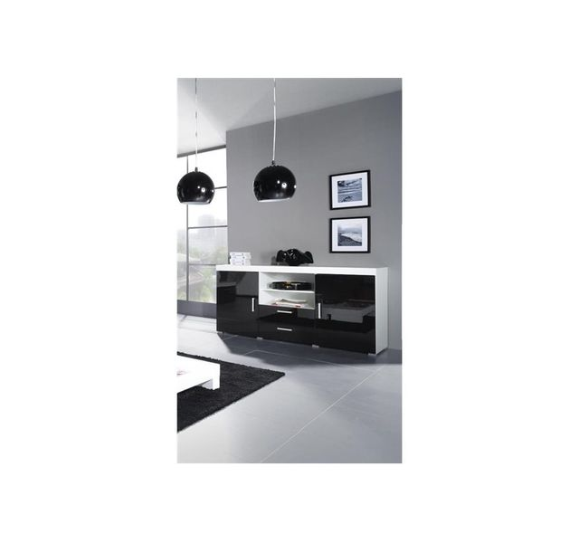 CHLOE DESIGN Commode design MEMBA - noir