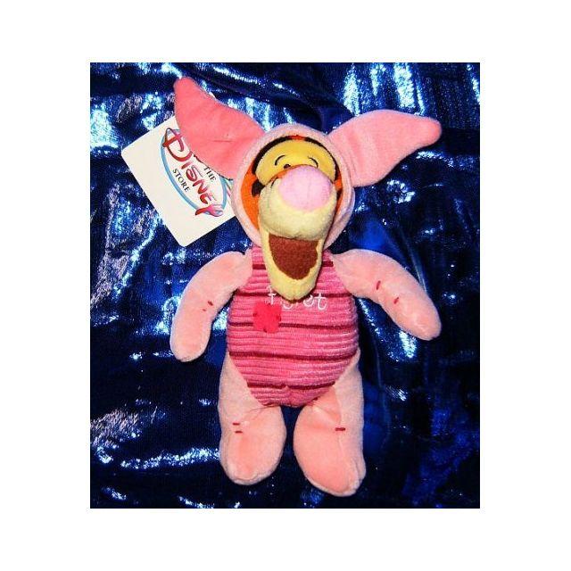 WINNIE L'OURSON Disneys Winnie the Pooh Tigger as Piglet 8 Plush Beanie