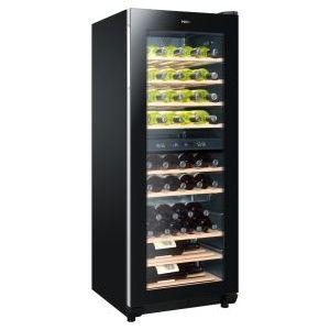 haier cave vin multi usages 2 temp 50 bouteilles. Black Bedroom Furniture Sets. Home Design Ideas
