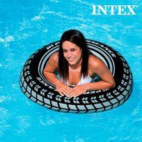 Totalcadeau - Pneu Intex Gonflable Bouée ronde pour piscine et mer