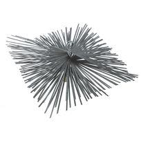 Ribimex - Hérisson carré côté 250 mm en acier