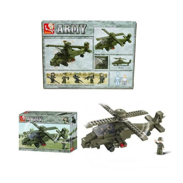 Compatibles Lego Combat De Hélicoptere Construction Briques Armée 0nZkNP8wOX